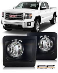 2015 gmc sierra fog lights 2014 2015 gmc sierra 1500 fog light bumper l clear pair wiring