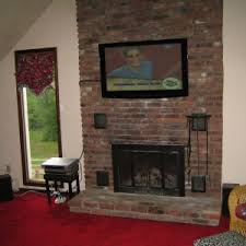 Decorating Family Room With Fireplace And Tv - decoration cool mounting a tv over a fireplace for your family
