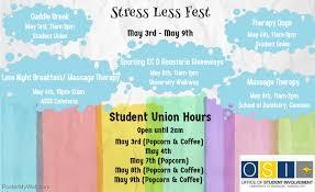 Colors Of Spring 2017 Usucceed Stress Less Fest Spring 2017
