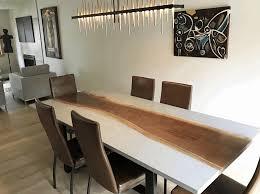 concrete table black high gloss sideboard rectangular black dining