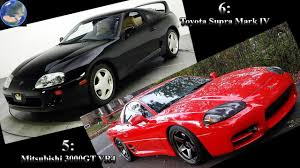 mitsubishi 3000gt fast and furious 10 of the fastest japanese cars in america part 3 youtube