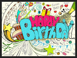 Doodle Birthday Card 50 Beautiful Happy Birthday Greetings Card Design Exles Part 2