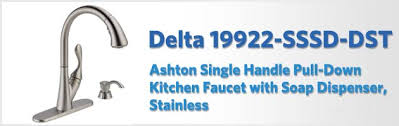 Delta Kitchen Faucets Reviews Delta 19922 Sssd Dst Ashton Review Kitchen Faucet Reviews Pro