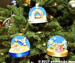sew can do 3 d nativity ornaments tutorial