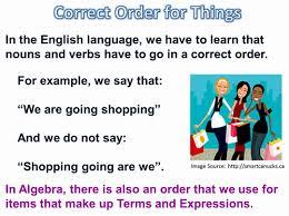 algebra terms and expressions passy u0027s world of mathematics