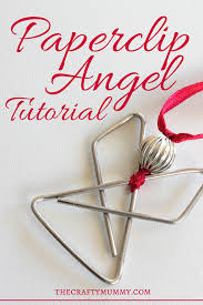 tutorial paperclip butterfly and