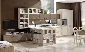 cucine e soggiorno beautiful cucine soggiorno contemporary idee arredamento casa