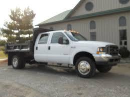 Ford Diesel Pickup Truck - 2003 ford f 550 crew cab diesel dump truck