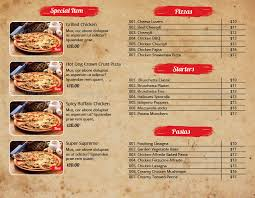 flyer menu template pizza menu and flyer indesign template pack by azadcsstune