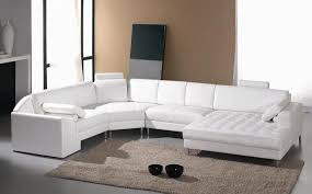 sofa trendy rounded sectional sofa incredible small leather with