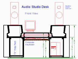 woodware audio studio furniture plans