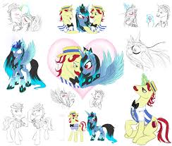 shiver flim and flam sketch dump by alicornparty on deviantart