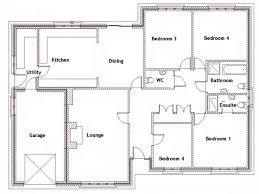 house plans 4 bedroom download house plans 4 bedrooms bungalow adhome