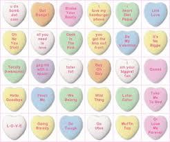 necco hearts heart conversation hearts