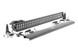 30 inch led light bar 30 inch dual row cree led light bar black series 70930bl rough