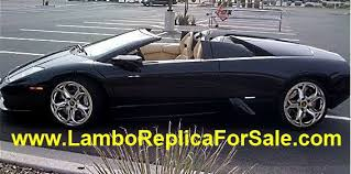 lamborghini kit car for sale lamborghini murcielago replica kit car for sale looks identical to