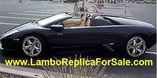 lamborghini kit car builders lamborghini murcielago replica kit car for sale looks identical to