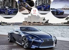 lexus concept lf lc 2012 lexus lf lc blue concept caricos com