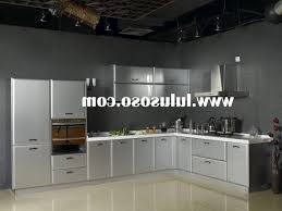 Kitchen Steel Cabinets Kitchen Stainless Steel Kitchen Cabinets Intended For Artistic