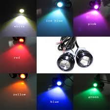 Led Car Lights Bulbs by 1piece Lot 18mm Eagle Eye Light Car Auto Led Drl Light 5630 2smd