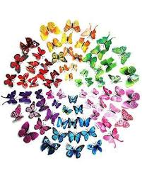 Amazing Deal on Wall stickers butterfly stickers 72pcs 3d