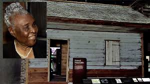 woman sees her u0027slave cabin u0027 birthplace in african american museum