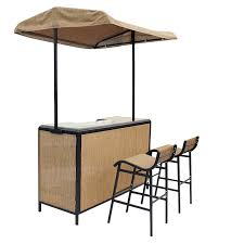 Tiki Outdoor Furniture by 3 Piece Tiki Bar Set Patio Furniture Spring U0026 Summer Shop By