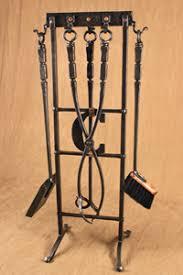 Fireplace Toolset - forged fireplace tools ponderosa forge u0026 ironworks
