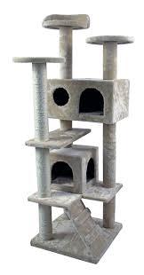 Cat Furniture 50 U0027 Cat Tree Tower Condo Furniture Scratch Post Kitty Pet House