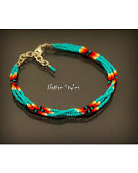 beaded ankle bracelet images New shopping special native american style ankle bracelet seed