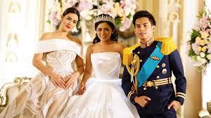 wedding dress raisa netizen tuding raisa saingi penilan venya sang