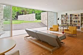 brown varnished wooden storage cabinet square ceramic floor