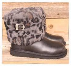 womens ugg australia ellee boots ugg australia womens dree black leather boots us 7 uk