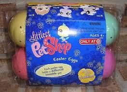 littlest pet shop easter eggs littlest pet shop easter egg hunt pack 546 547 548 549 550 551 vhtf