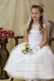 communion dresses on sale organza communion dress with sheer neckline