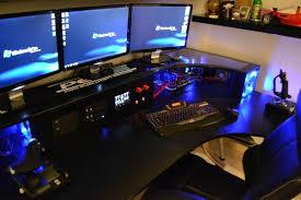 Computer Built Into Desk Project Kapros Ikea Galant Pc Desk Mod