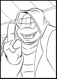 beautiful ninja turtles head coloring pages with coloring pages