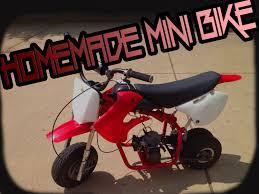 make my home my home made mini dirt bike youtube
