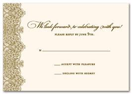 response card venice rsvp response cards wedding response cards 17609