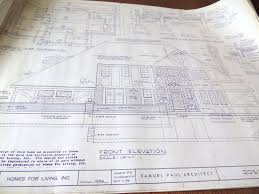 samuel paul architect 5 sets of house plans for tudor style