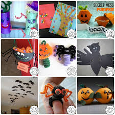 Easy Arts And Crafts For Kids With Paper - halloween craft ideas for kids