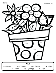 1st grade math coloring pages sheets first spring 1st grade ccd