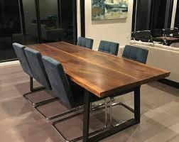Walnut Slab Table Slab Table Etsy