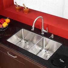 Under Mount Kitchen Sink by Kraus Stainless Steel 32 75
