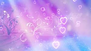 pre release flourishes and hearts valentines day background