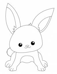 cute ba bunnies coloring pages getcoloringpages intended cute