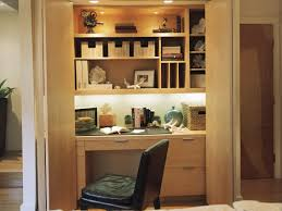Modern Closet Office Design Ideas Roselawnlutheran - Closet home office design ideas