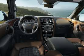 2017 nissan armada platinum interior the 2018 nissan armada platinum reserve has a feature all suvs