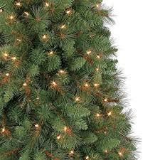 6 5 ft crestwood pine pvc tree with clear or multicolor