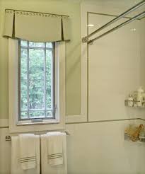Amazing Double Curtain Rod Design by Shower Curtains Shower Curtain Valance Designs Bathroom